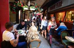 Аркада блока - Мельбурн Стоковое Изображение
