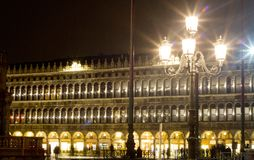 Аркада Сан Marco Венеция стоковые изображения rf