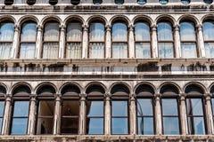 Аркада Сан Marco в Венеции Стоковое Изображение