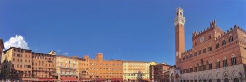 Аркада del Campo Siena стоковая фотография