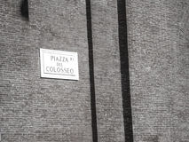 Аркада del Colosseo, Рим Стоковые Изображения