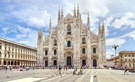 Аркада del Duomo. Ломбардия, Италия. стоковая фотография