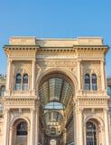 Аркада del Duomo Милан, Lombrady, северная Италия Стоковые Изображения RF