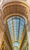 Аркада del Duomo Милан, Lombrady, северная Италия Стоковое фото RF