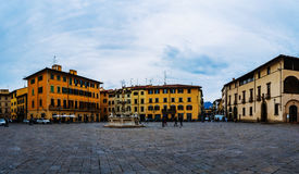 Аркада del Duomo, Тоскана, центральная Италия Стоковые Изображения RF