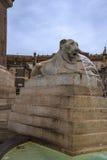 Аркада del Popolo большой городской квадрат в Риме Италии Имя в современной итальянке в буквальном смысле слова значит квадрат `  Стоковое Изображение RF