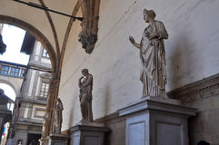 Аркада Della Signoria Флоренс, Италия Стоковое Изображение RF