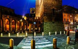 Аркада di Porta Ravegnana в болонья, Италии Стоковые Изображения