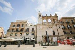 Аркада Ferrarese в центре Бари, Италии Стоковое Изображение RF