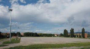 Аркада Freidano (квадрат Freidano) в Settimo Torinese стоковые фотографии rf