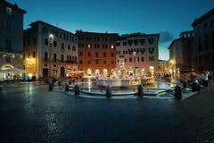 Аркада Navona rome стоковые фотографии rf