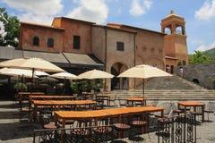 Аркада Primo, итальянская архитектура в Khao Yai, Таиланде стоковое изображение