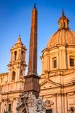 аркада rome navona Италии стоковое фото