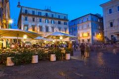 Аркада Santa Maria в Trastevere в Риме стоковая фотография