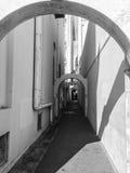 Арка в центре Menton Стоковые Фото