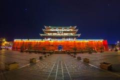 Арка традиционная часть архитектуры и эмблемы города jianshui Стоковые Фотографии RF