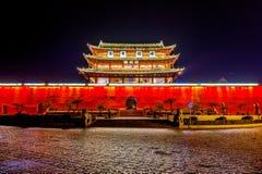 Арка традиционная часть архитектуры и эмблемы города jianshui Стоковое фото RF