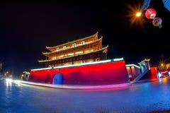 Арка традиционная часть архитектуры и эмблемы города jianshui Стоковое Изображение RF