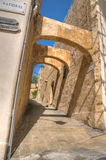Арка Mdina стоковое фото
