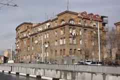 Армении yerevan Veiw улиц Стоковое Фото