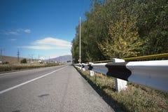 Армения: дорога к Sevan Стоковое Изображение RF
