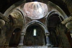 Армения, открывает монастырь Sanahin около Alawerdi стоковые фото