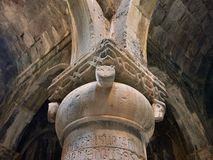 Армения, открывает монастырь Sanahin около Alawerdi стоковые изображения rf