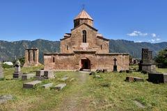 Армения, открывает церковь Odzun около Alawerdi стоковое изображение