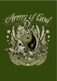Армия бога Стоковые Изображения