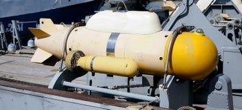 Армия военного корабля торпедо воинская Стоковое Изображение RF