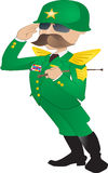Армия Дженерал Стоковые Изображения RF