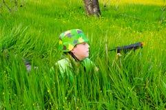 Армия детей Стоковые Фото