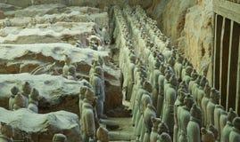 Армия Китай терракоты Стоковые Фото