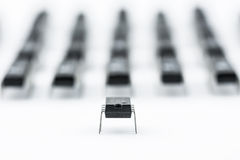 Армия процессоров Стоковое фото RF