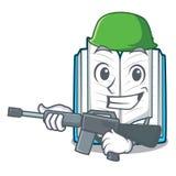 Армия раскрыла книгу на таблице мультфильма бесплатная иллюстрация