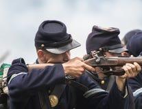 Армия севера на войне Стоковая Фотография RF
