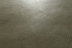 Армия, текстура воинского зеленого цвета зернистые, тяжелые предпосылка кожи коровы икры зерна и стоковые фото