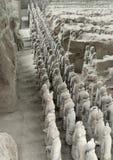 Армия терракоты в Xian Стоковая Фотография
