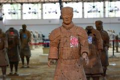 Армия терракоты Сиань Провинция Шэньси Китай Стоковая Фотография