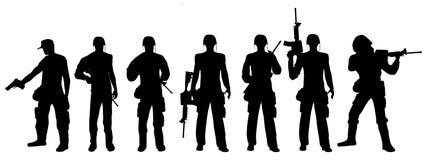 армия 2 Стоковая Фотография