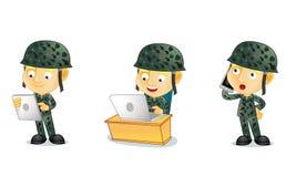 Армия 3 Стоковое Изображение