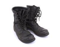 армия boots corcoran старое Стоковое Изображение RF