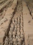 Армия Terracotta Стоковое Изображение