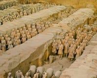 Армия Terracotta стоковое изображение rf
