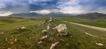 Армянка outdoors стоковые фотографии rf