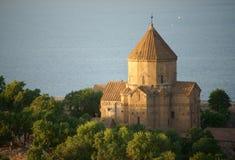 Армянская церковь святого креста Стоковые Изображения RF