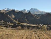 Армянские горы стоковое изображение
