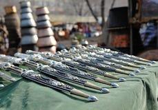 Армянские национальные оружия для людей! Стоковые Фотографии RF