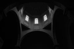 Армянский интерьер церков Стоковое фото RF