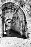 Армянский квартал Иерусалима Стоковое Фото